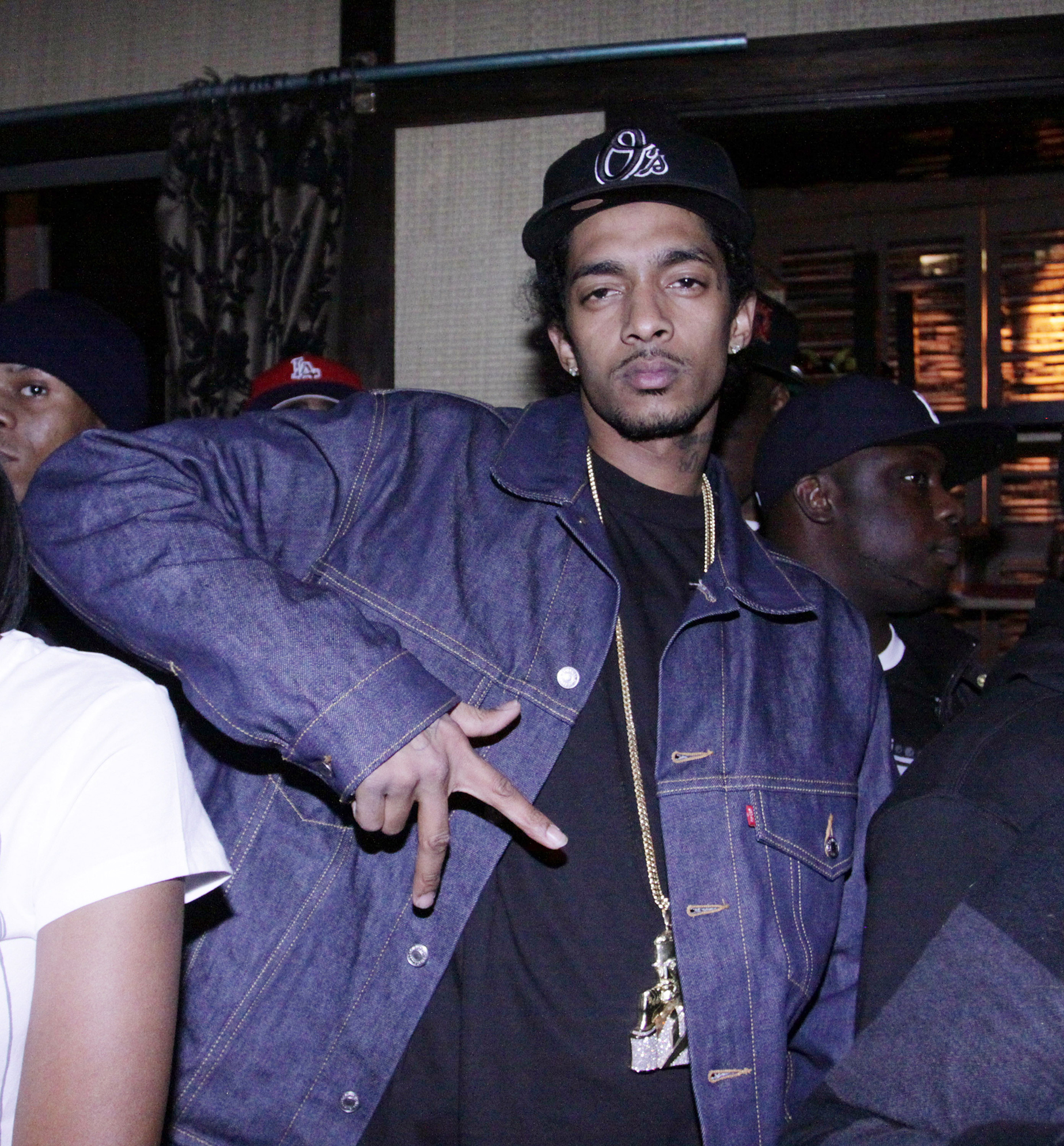 NEW YORK - MARCH 30:  Recording artist Nipsey Hussle attends S.O.B.'s on March 30, 2010 in New York City.  (Photo by Johnny Nunez/WireImage) *** Local Caption *** Nipsey Hussle